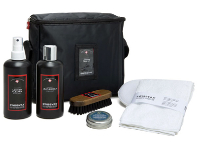 Swissvax Leather Care Kit<br />Komplett skinnpleiesett