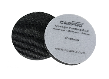 CarPro Orange Peeling Pad<br />2000 Grit Denim