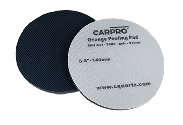 CarPro Orange Peeling Pad<br />Velvet Grit 3000