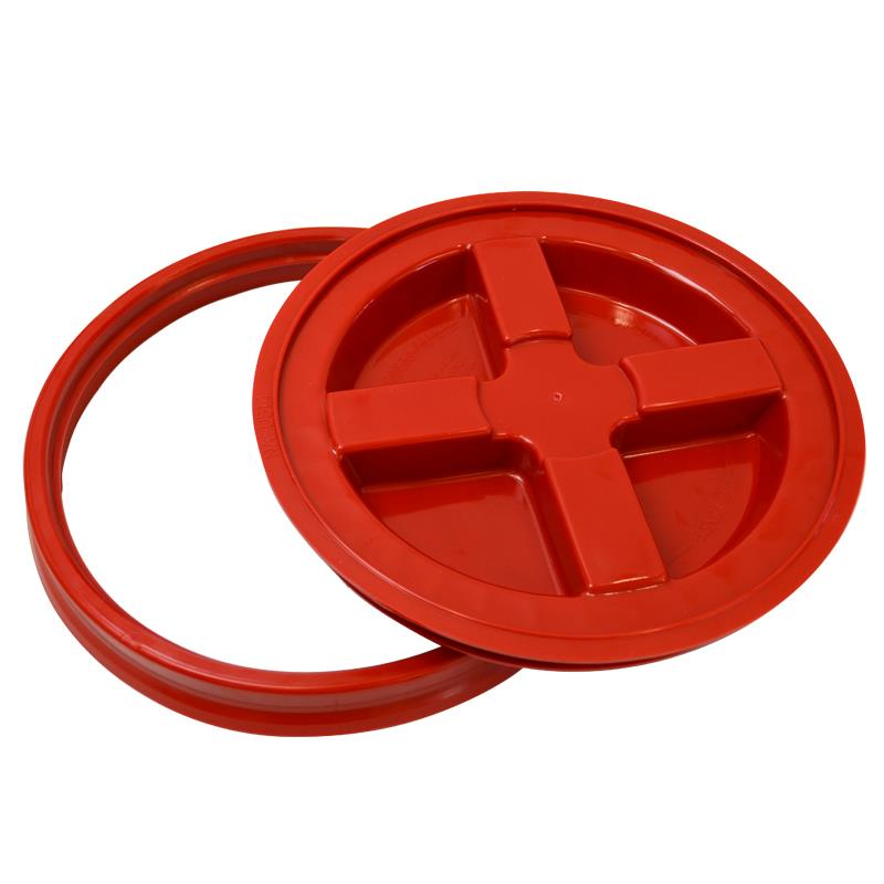 Grit guard Red Gamma seal Lid