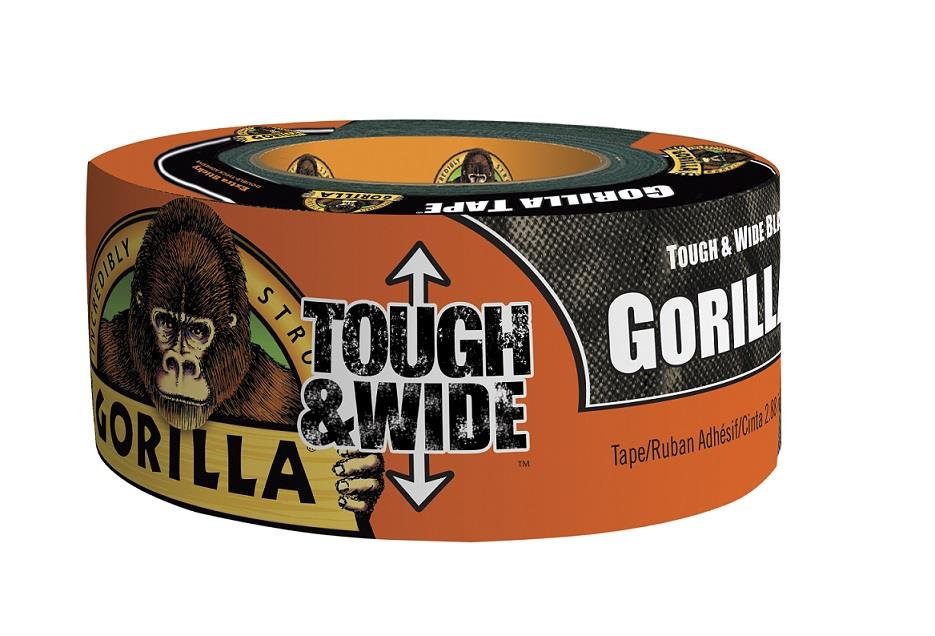 Gorilla tape<br />Svart 27m<br />Tough & Wide