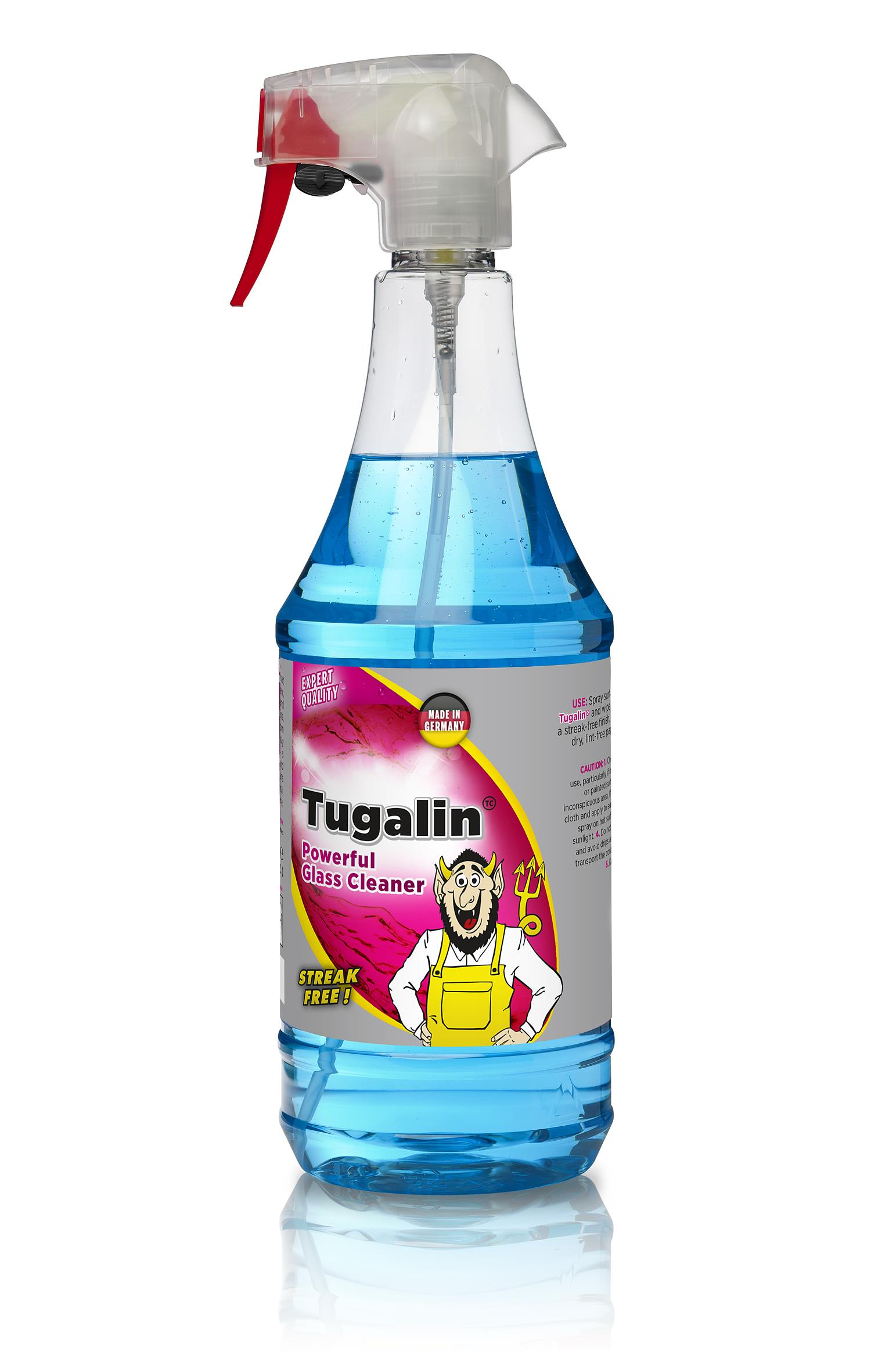 Tuga Tugalin<br />Streakfree glassrens